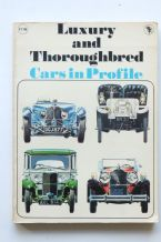 Luxury & Thoroughbred Cars in Profile (Harding 1971)